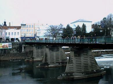 Az ungvári gyalogjáró híd